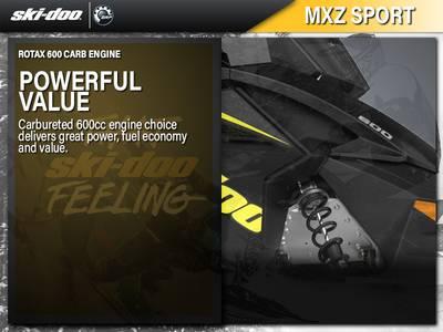 2019 Ski-Doo MXZ® Sport Rotax® 600 CARB | Moon Motorsports